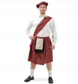 Schottenrock Kostüm Schotte Kilt