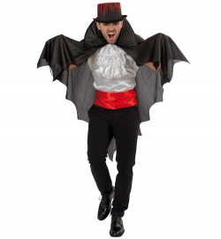 Umhang Fledermaus Cape Dracula