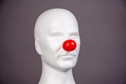 Hartplastik Clownnase