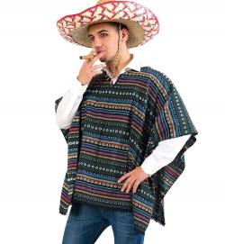 Poncho El Taco Größe UNI
