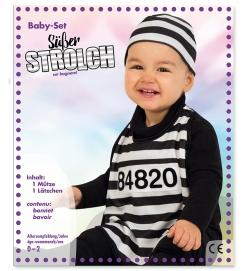 Baby Set Süßer Knasti, Lätzchen und Mütze , Größe 86
