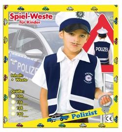 Polizei Weste blau Spielweste