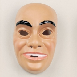 Gesichtsmaske Mann mit Zähne