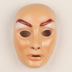 Gesichtsmaske Dame Frau