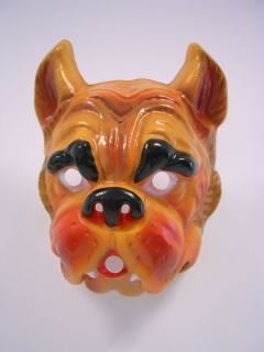 Tiermaske Bulldogge