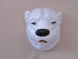 Tiermaske Eisbär
