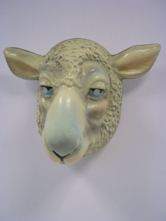 Tiermaske Schaf