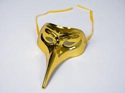 Schnabelmaske Pantalone, gold