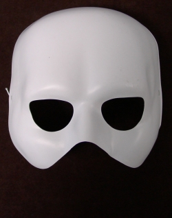 Neutralmaske Theatermaske Phantom zum Bemalen