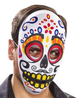 Textil-Maske Tag der Toten, männlich