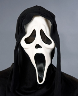 Phantom mit Kapuze Scream Maske