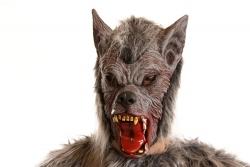 Latexmaske Werwolf