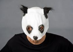 Tiermaske Panda - Pandabär