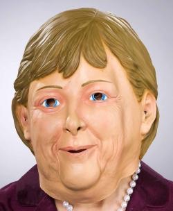 Latexmaske Angela Merkel