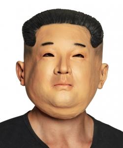 Latexmaske Kim Jong Un