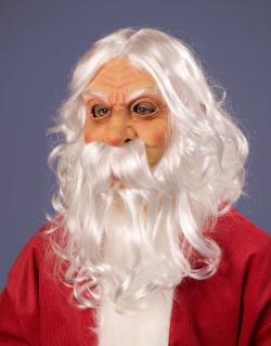 Latexmaske Weihnachtsmann