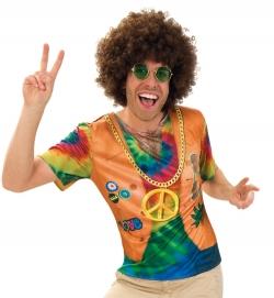 Shirt Hippie, 1-tlg.