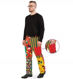 Hose Partyclown, Uni-Kostüm
