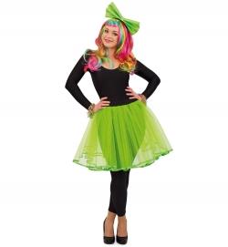 Tüllrock grün, Uni-Kostüm