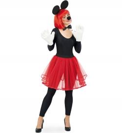 Tüllrock rot, Uni-Kostüm