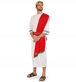 Cäsar römisches Gewand mit angenähtem Schultertuch + Gürtel