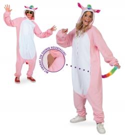 Rainbow Pony, Uni-Kostüm Größe Uni