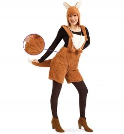 Fuchs Latzhose, Uni-Kostüm