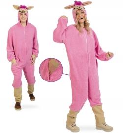 Pink Lama Tierkostüm Overall