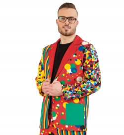 Sakko Partyclown, Uni-Kostüm