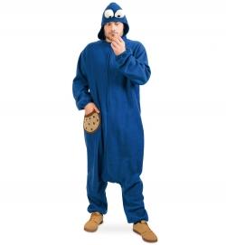 Keksmonster, Overall Uni-Kostüm Größe Uni