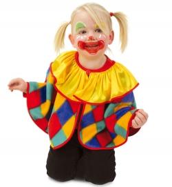 Clown Cape Umhang Größe 98