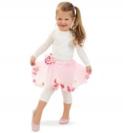 Tüllrock Blume Tutu Kostüm Rock Fee Ballett