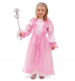 Kostüm Prinzessin Lena für Kinder rosa