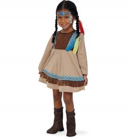 Indianerin Kleine Feder, Kleid