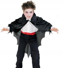 Umhang Fledermaus Vampir für Kinder