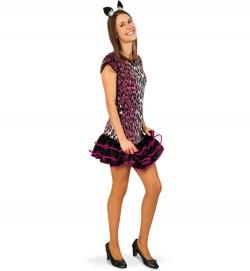 Leopard Teeny Kostüm Pinky Cat