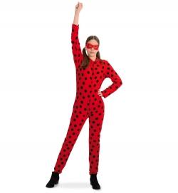 Marienkäfer Junikäfer Superheldin Suit mit Maske