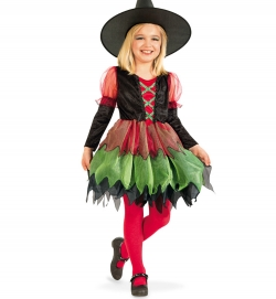 Hexe Kleid Kinder Kostüm