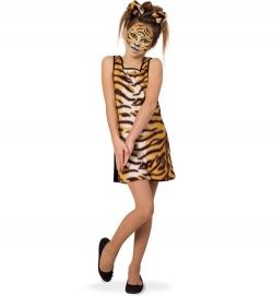 Tigerkleid für Mädchen