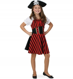 Piratin Liza Piratenkleid für Kinder