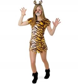 Tiger Kleid Tierkostüm für Teenager