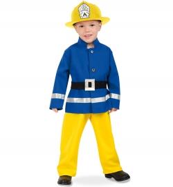 Feuerwehrmann, Oberteil, Hose + Gürtel