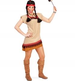 Indianerin, Kleid