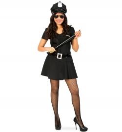 Polizei Kleid Police Girl für Teenys Cop Kostüm