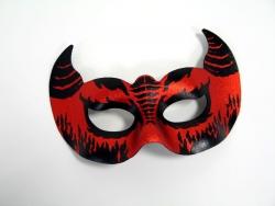 Augenmaske Teufel Devil