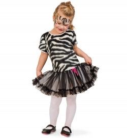 Zebra, Kleid Tierkostüm
