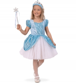 Ice Queen, Kleid Prinzessin