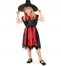 Hexe Kleid mit Hut