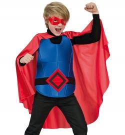 Super Hero Superheld Umhang mit Brustpanzer und Maske