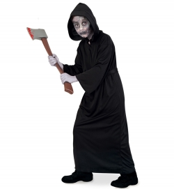 Black Reaper, 1-tlg. mit Kapuze und Gürtel